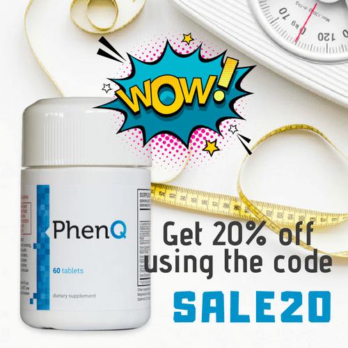 PhenQ 20% OFF